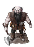A Dwarf by dashinvaine