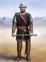 Templar Sergeant by dashinvaine