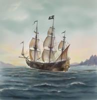 Pirate Ship by dashinvaine