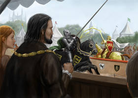 Game Of Thrones Joust by dashinvaine