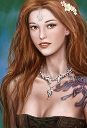 Lynn d'Vadalis brown eyes by dashinvaine
