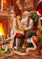 Santa's List by dashinvaine