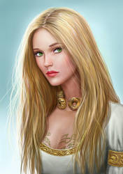 Asterith Dragonclore by dashinvaine