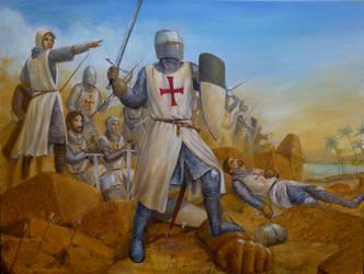 Templar Battle Line by dashinvaine