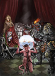 Fiendish Prophecy by dashinvaine