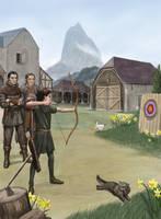 Young Archer Arawn by dashinvaine