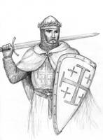 Godfrey de Bouillon by dashinvaine