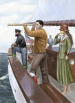Watching the Black Sailed Brig by dashinvaine