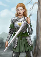 Emma in Armour by dashinvaine