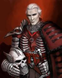 Necromancer Knight by dashinvaine