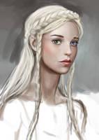 Abortive Portrait AKA Kseniya Mk 1 by dashinvaine