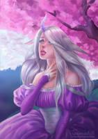 Lady unicorn by TerinCat