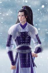 Commission: Samurai by TerinCat