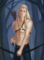 Legolas by TerinCat
