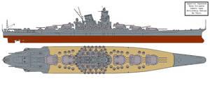 Battleship: Maximum Yamato by Tzoli