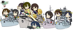 Battle of Midway with Girls! by Tzoli