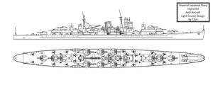 Improved IJN AA Cruiser by Tzoli