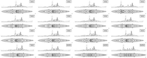 IJN ABC Capital Ship Designs by Tzoli