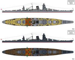 B-65 Type Battlecruiser Design by Tzoli