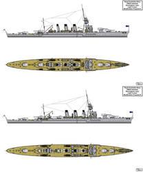 Modified HMAS Adelaide designs by Tzoli