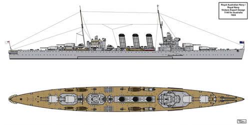 Vickers Export Design 1144 for Australia by Tzoli