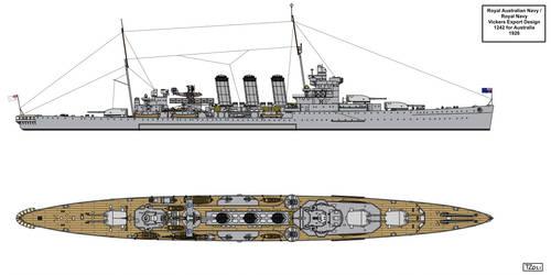 Vickers Export Design 1242 for Australia by Tzoli