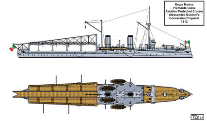 Aviation Protected Cruiser Piemonte by Tzoli