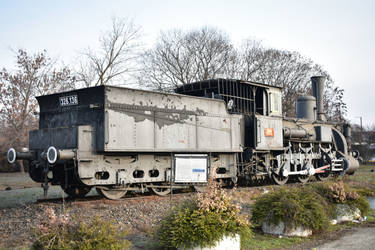 Hungarian Steam Locomotive 0-6-0: No.326.136 by Tzoli