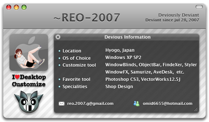 My Deviant ID by REO-2007