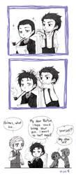 Holmes' bad hair day by Sadyna
