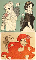 Princesses and Princes by Sadyna