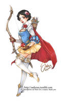 Warrior of Seven Arrows by Sadyna