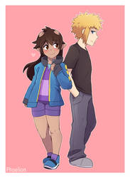 C: Got his jacket by Phoelion