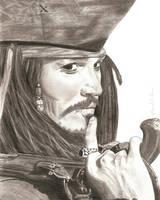 Captain Jack Sparrow by Gravy-Goose