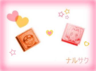 NaruSaku Stamps by rainbowramen321