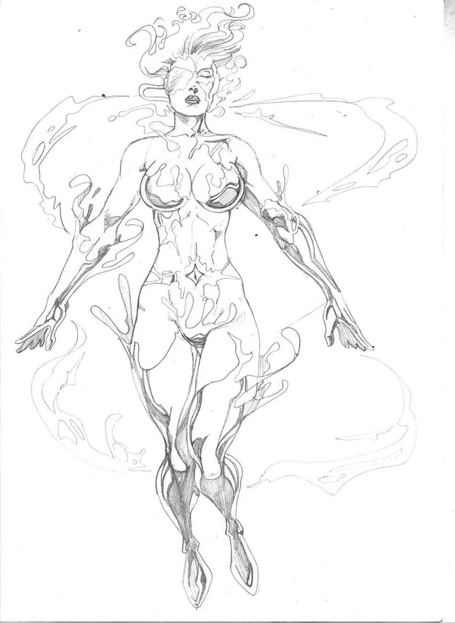 Sketch Commish:Nulleena by JeanSinclairArts