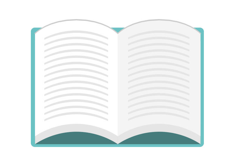Open-book-flat-vector-graphic by superawesomevectors