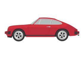Red-porsche-911sc-vector-car-illustration by superawesomevectors