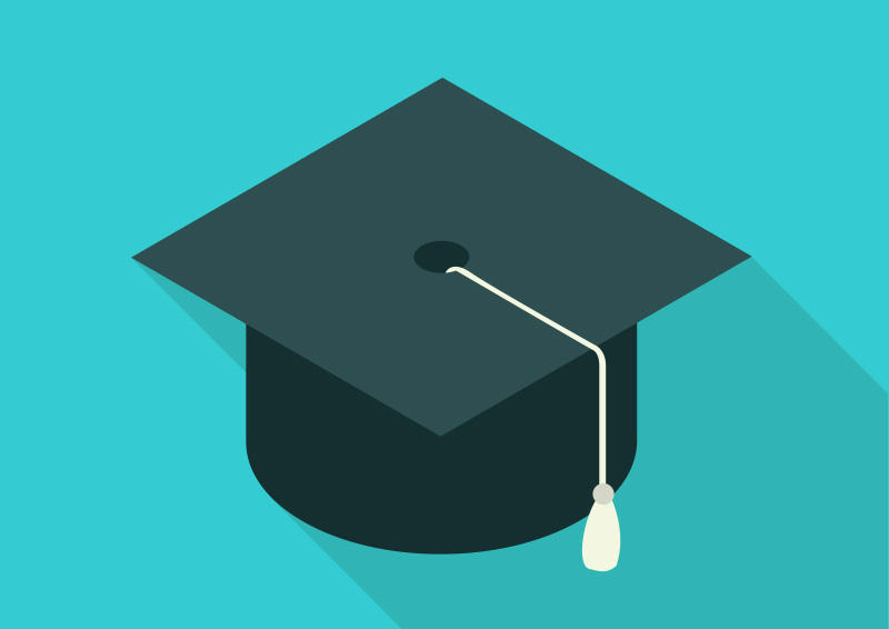 Isometric-flat-graduation-cap-free-vector by superawesomevectors