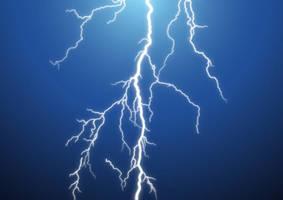 Lightning Bolt Vector by superawesomevectors