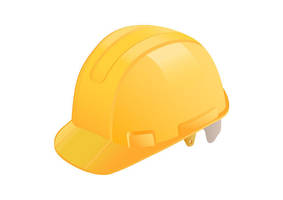 Yellow Construction Helmet Free Vector by superawesomevectors