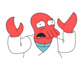 Zoidberg Futurama Free Vector by superawesomevectors