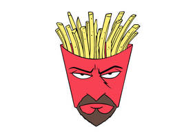 Frylock Aqua Teen Hunger Force Free Vector by superawesomevectors