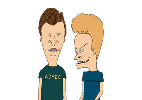 Beavis and Butt-Head Free Vector by superawesomevectors
