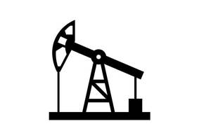 Oil Pump Free Vector Silhouette by superawesomevectors
