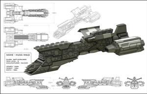 HUDA Battleship by StephenHuda