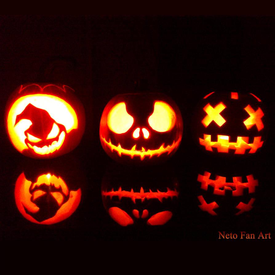 Pumpkin Ideas - Nightmare Before Christmas by NetoFanArt on DeviantArt