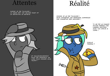 Cooli le detective by CooliPoney