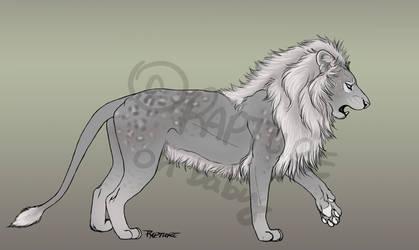 Lion Ref Sheet for Bid by markedwolf