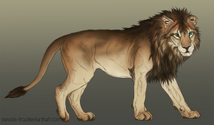 Adopt Me Lion by markedwolf